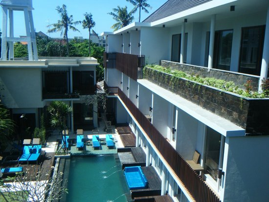 Aquarius Star Hotel: View from the top of the new area