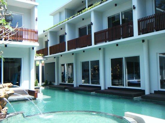Aquarius Star Hotel: The new area