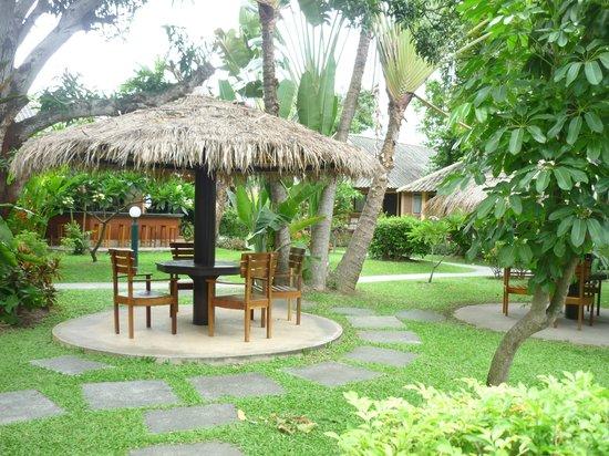 East Sea Resort Hotel: Навесы для отдыха