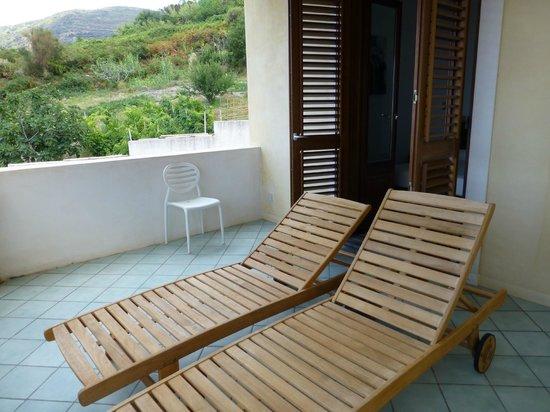 La Zagara Hotel : Très agréable terrasse