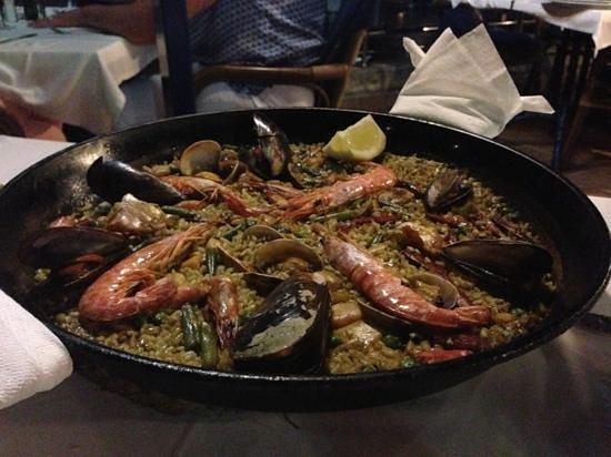 Siroco : paella di pesce