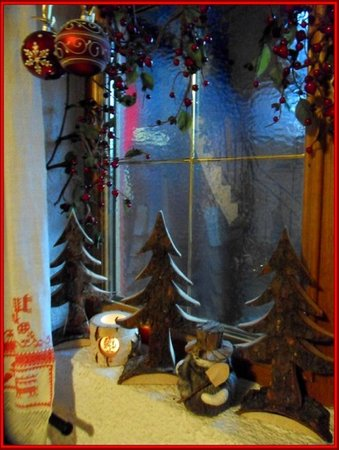 winter decoration at the Bergwald in Alpbach