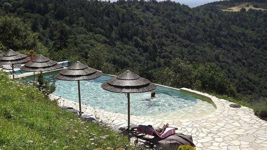 acc s la piscine picture of le hameau de la mure saint laurent du pape tripadvisor. Black Bedroom Furniture Sets. Home Design Ideas