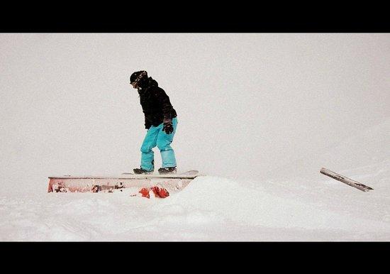 Cardrona Alpine  Resort: Hitting up the snow park