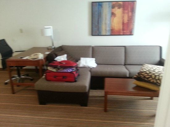 Residence Inn by Marriott Parsippany: living area