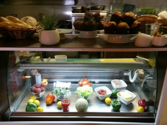 Stairwell Cafe: Deli Counter