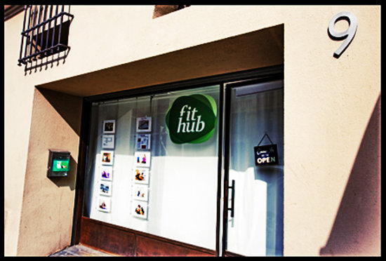 FitHub, located behind the church on Nice Port
