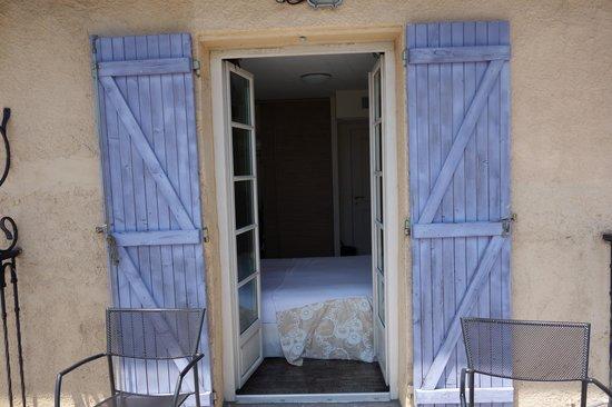 Hôtel Eze Hermitage : The room