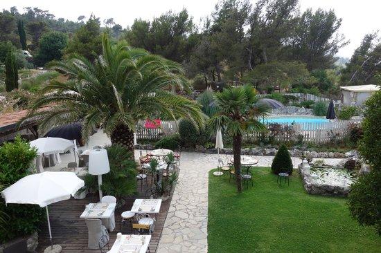 Hôtel Eze Hermitage: The garden