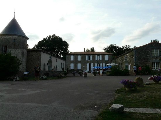 Camping Domaine des Forges: accueil