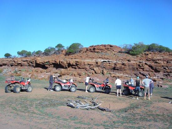 Kalbarri Quadbike Safaris: Coffee Break