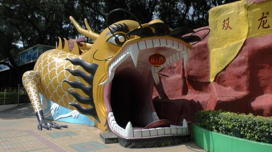 Zhongshan Park of Shenzhen: Haunted walk-through attraction