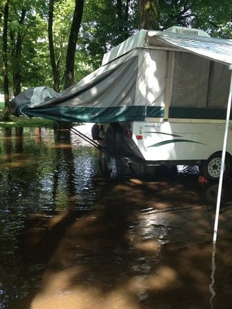Fort Whaley Campground: 12 hours later -A30