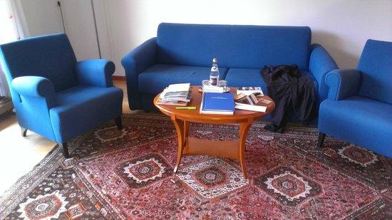 Hotel Villa Stefania : Juniorsuite Wohnbereich