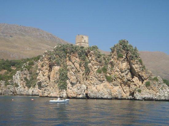 Motonave Leonardo Davinci: torre spagnola