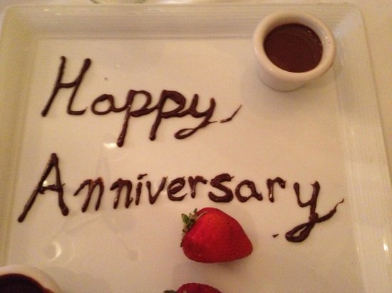 Sherwood Inn: We mentioned that it was our anniversary