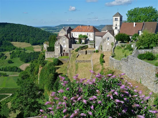 Le Relais des Abbesses : Château-Chalon