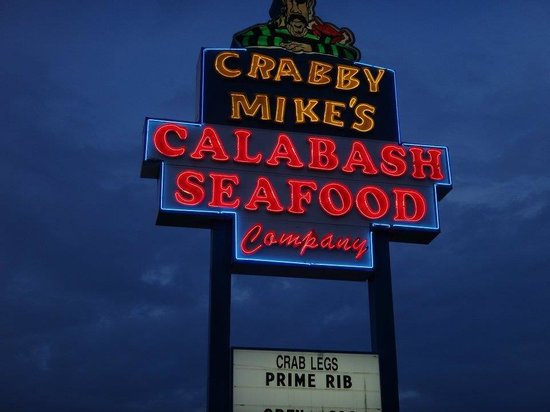 Crabby Mike's Calabash Seafood : Crabby Mike's in Surfside, SC