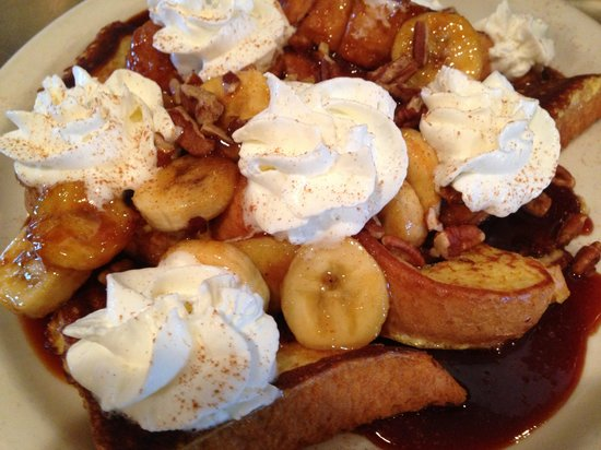 Christoffs Family Dining: Caramel banana French toast