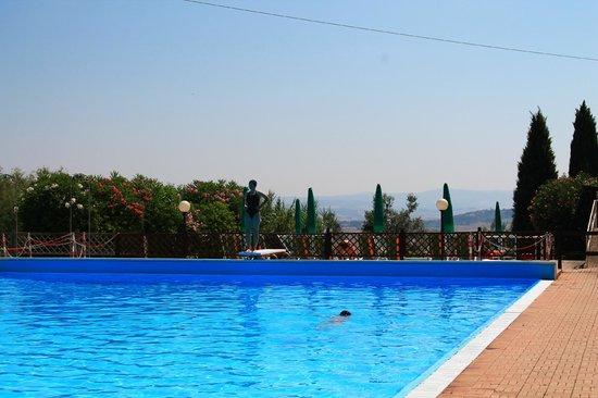 Le Vecchie Cantine: Swimming-pool in Chianni