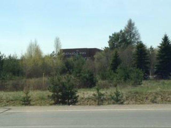 Valhalla Inn: View from car