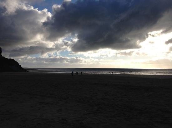 Ladies Beach: sundown at Ballybunion