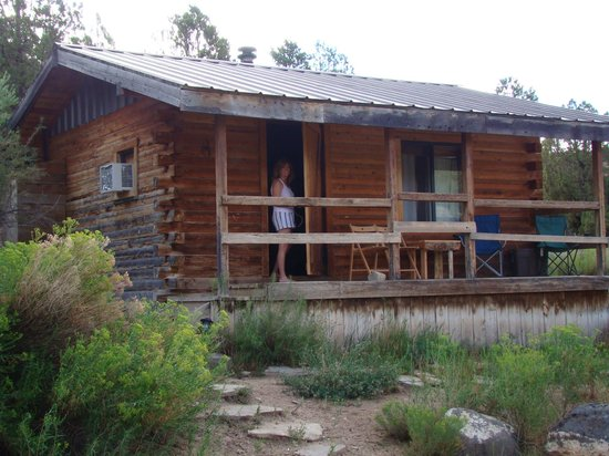 Boulder Mountain Guest Ranch: Cabin one is a bit smaller than #3
