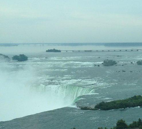 Niagara Falls Marriott Fallsview Hotel & Spa: Our view