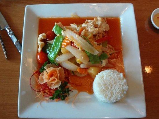 Mai Thai Restaurant: Our Grandson's Sweet And Sour Pork