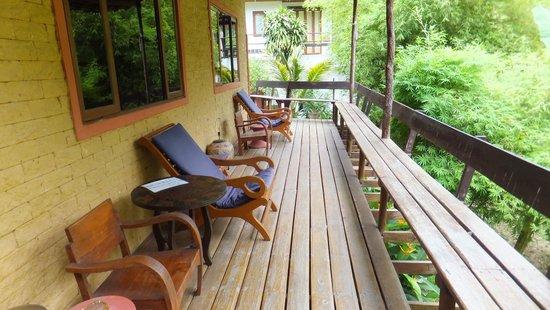 Suksamran Villas: Balcony