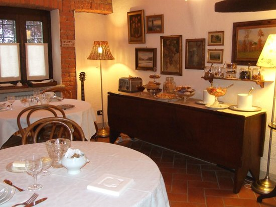 Bed & Breakfast Via Francigena: Sala Colazioni