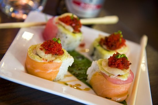 Scene Restaurant & Lounge: Tapas Style Sushi on Tuesdays