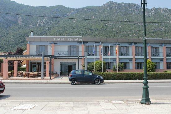 Hotel Violetta: The hotel