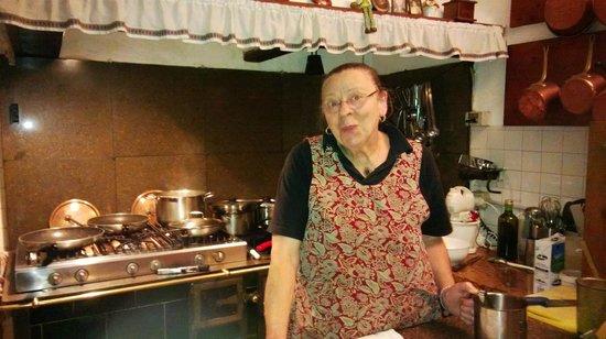 Maso Cantanghel: die Köchin