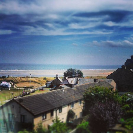 Nether Grange: The view from room 27