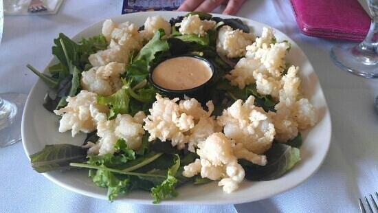 Goodfish Grill: Brand new appetizer: lobster popcorn.
