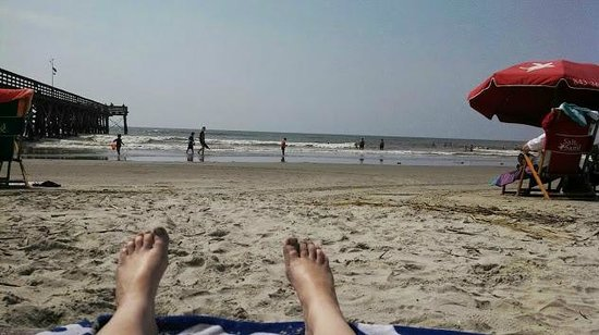 Isle Of Palms County Park Loungin On The Beach