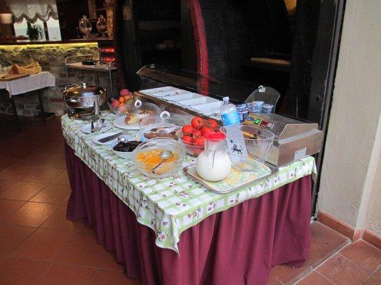 Albergo del Chianti : Breakfast
