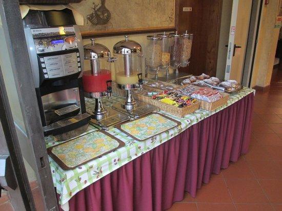 Albergo del Chianti: Breakfast