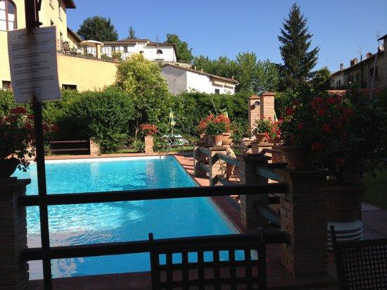 Albergo del Chianti: Pool and grounds