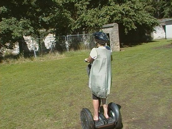 Glidetours : segway in the park