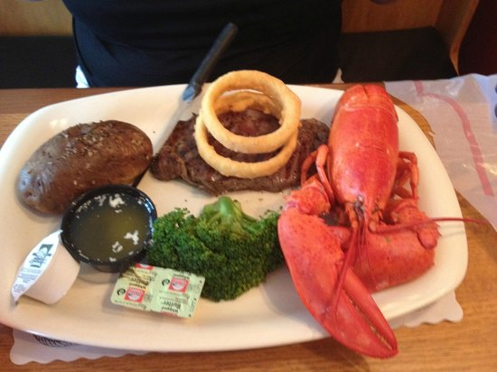 Marconi Beach Restaurant: $20 Lobster and steak Special