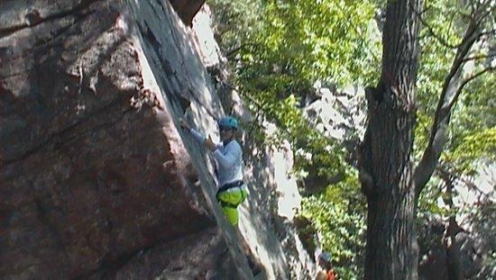 Devils Lake Climbing Guides: Evan