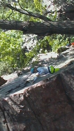 Devils Lake Climbing Guides : Evan