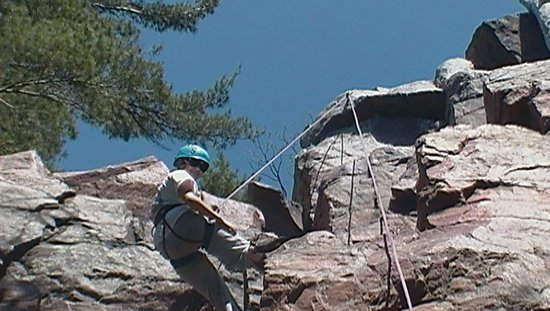 Devils Lake Climbing Guides : Ashley