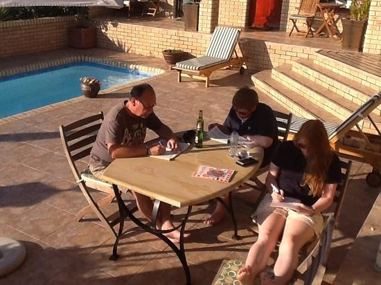 Amber Guest Lodge: fun in the sun