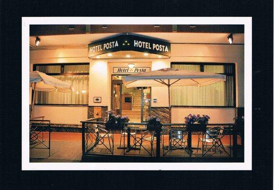 """Hotel Posta : Ingresso .... """" notturno """""""