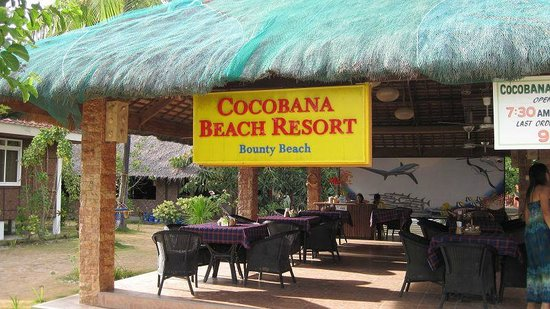 Cocobana Beach Resort: Restaurant