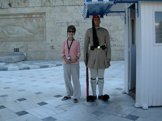 rickee and chris in athens picture of athens custom taxi tours rh tripadvisor com