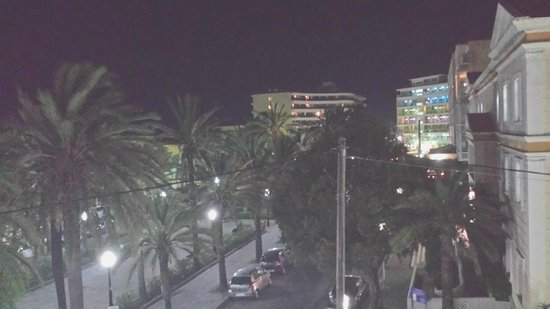 ALS Hotel: vista notturna dalla camera